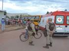 Estudante de 11 anos cai após se pendurar em ônibus escolar na Bahia