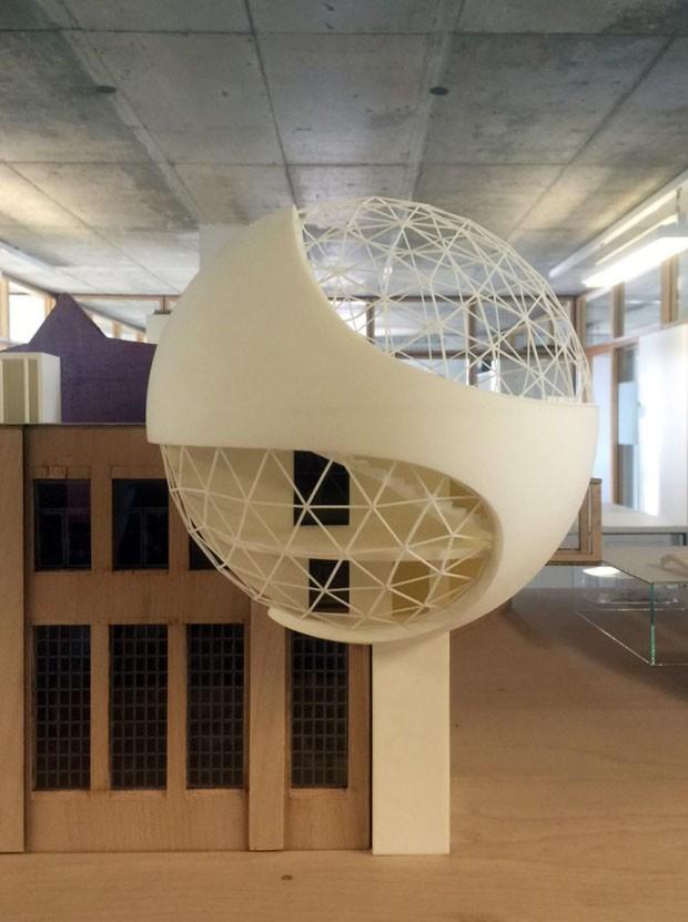 Um dos últimos projetos de Oscar Niemeyer será erguido na Alemanha (Foto: Kirow Leipzig)