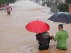 Chuva atinge 10 cidades em SC e deixa desalojados e desabrigados