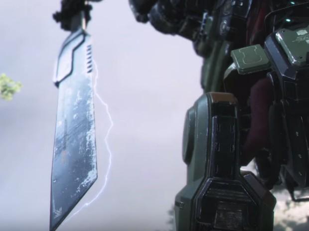 Titã usa espada como arma em teaser de trailer de 'Titanfall 2' (Foto: Divulgação)