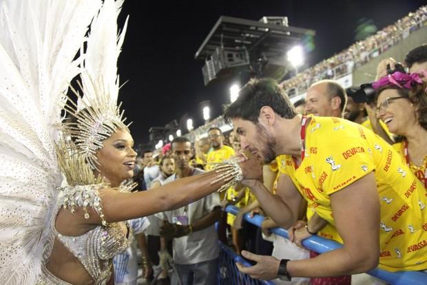 Juliana Alves e Ricardo Tozzi (Foto: Claudio Andrade/ Foto Rio News)