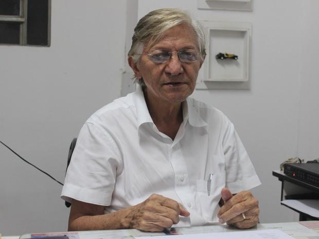Presidente do Sindilojas diz que crise só se agrava (Foto: Gustavo Almeida/G1)