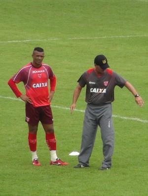Zé Carlos CRB (Foto: Estéfane Padilha/GloboEsporte.com)