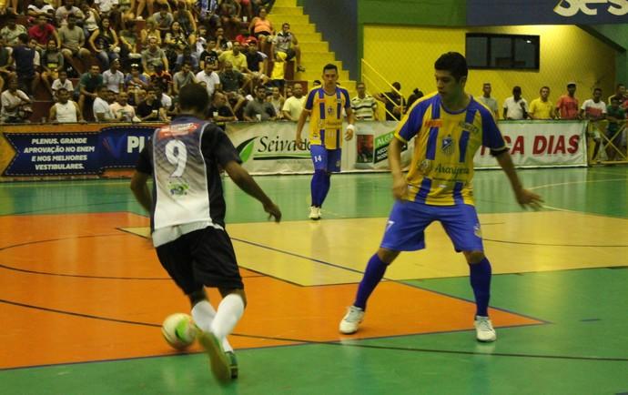 Araripina vence Dom Malan por 5 a 0 (Foto: Amanda Lima)