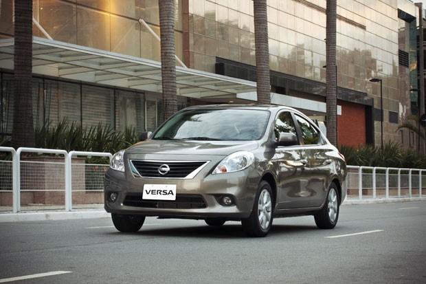 Exceptional Nissan Versa 2014 (Foto: Divulgação)