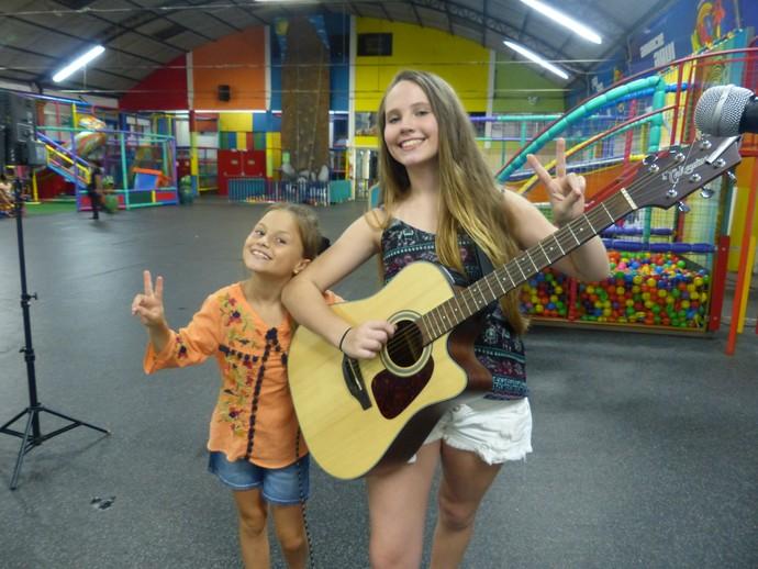 Rafa Gomes e Carol Passos The Voice Kids (Foto: Divulgação/RPC)