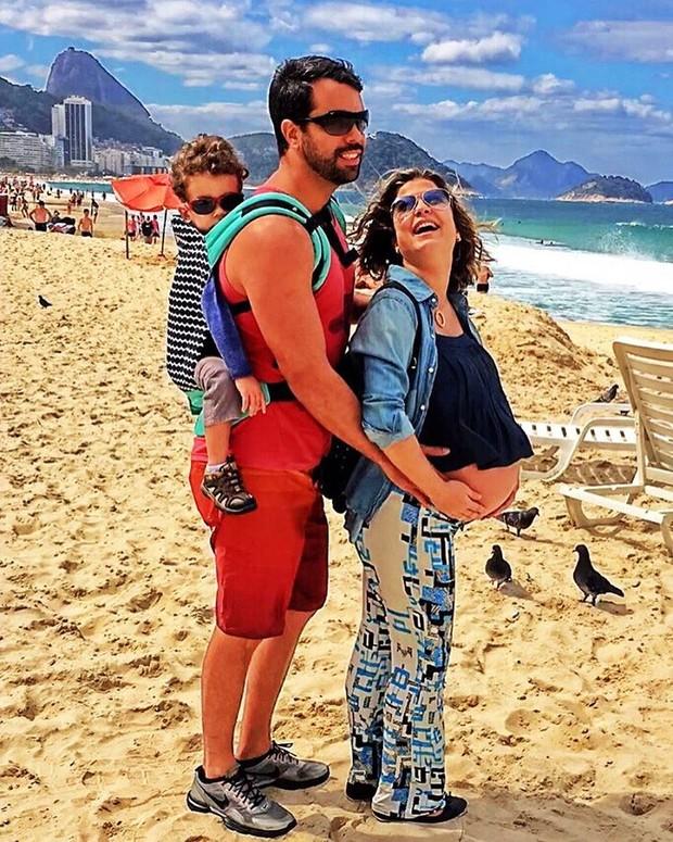 Bárbara Borges com a família (Foto: Reprodução / Instagram)