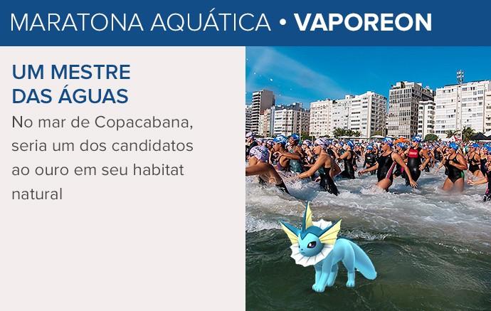 Pokémon GO - Rio 2016 - Vaporeon (Foto: Infoesporte)