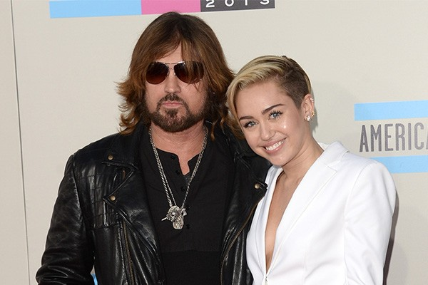 Billy Rae Cyrus e Miley Cyrus (Foto: Getty Images)