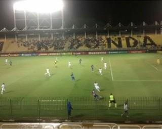 Barra Mansa 1 x 1 Resende - Estádio Raulino de Oliveira (Foto: Cristiane Mendes/GloboEsporte.com)