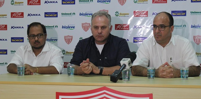 Toninho Cecílio técnico Mogi Mirim (Foto: Geraldo Bertanha / Mogi Mirim)