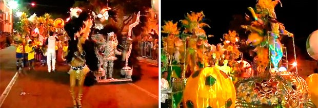 Escola de samba Balanço do Morro é campeã do carnaval de Natal (Desfile das escolas de samba de  Natal leva brilho à Av. Duque de Caxias (Desfile das escolas de samba de Natal leva brilho à Av. Duque de Caxias (Reprodução/Inter TV Cabugi)))