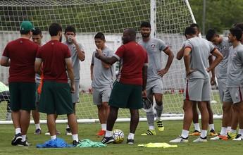 Flu dá férias a 12 jogadores e convoca quatro do sub-20 ao jogo contra o Inter