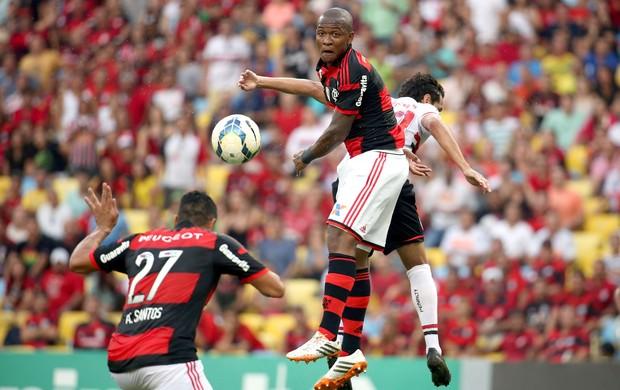 Samir jogo Flamengo x São Paulo (Foto: André Durão / Globoesporte.com)