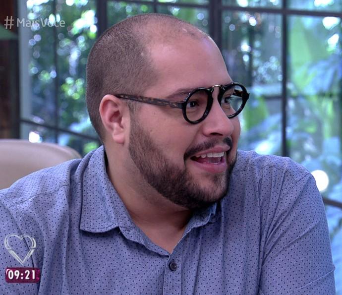 Tiago Abravanel também participou do programa (Foto: TV Globo)