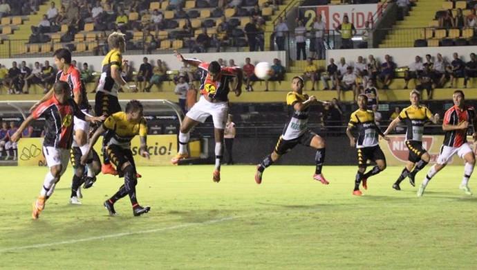 Criciúma Joinville (Foto: José Carlos Fornér/JEC)