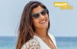Giulia Costa revela seu estilo de moda praia e defende o biquíni: 'Me sinto mal de maiô'