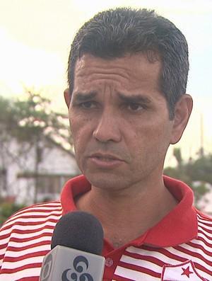 Álvaro Miguéis, técnico do Rio Branco (Foto: Reprodução/TV Acre)