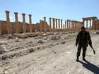 Rússia diz ter removido mais de 1,5 mil minas em Palmira
