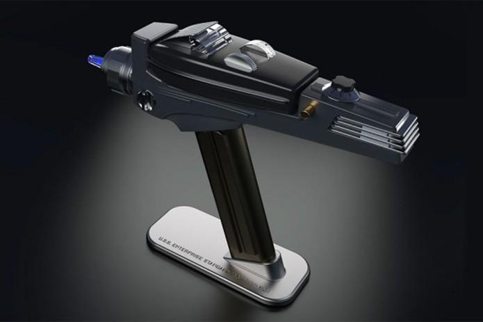 Arma de Star Trek vira controle remoto universal - mas não vaporiza aliens (Foto: Divulgação)