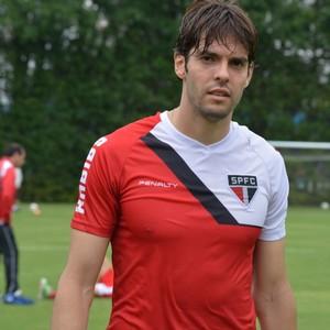 Kaká São Paulo (Foto: site oficial / saopaulofc.net)