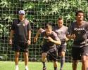 De volta ao time titular, Preto celebra retorno de Benazzi ao Bragantino