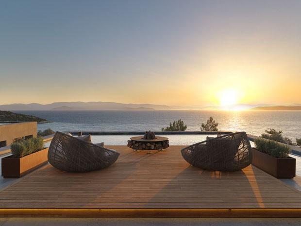 Hotel na Turquia é banhado pelo sol
