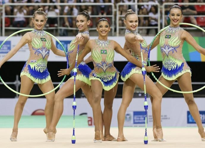 ginástica rítmica (Foto: Divulgação/CBG)