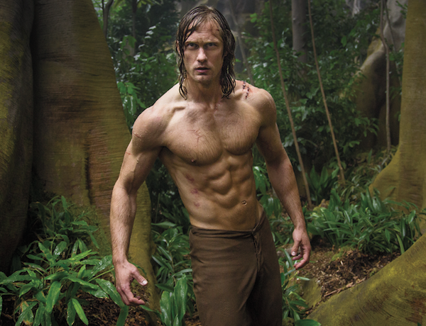 O ator Alexander Skarsgård em cena de Tarzan (2016) (Foto: Reprodução)