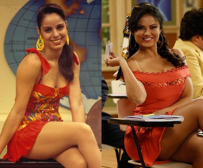 Ellen Rocche como Capitu (Foto: CEDOC/TV Globo e Raphael Dias/Gshow)