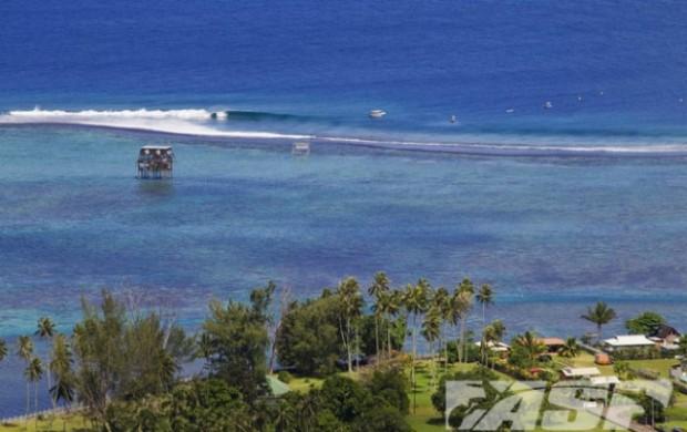 surfe Teahupoo Taiti adiamento (Foto: Kirstin Scholtz / ASP)