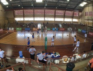 Jogos escolares vôlei (Foto: Pedro Veríssimo)