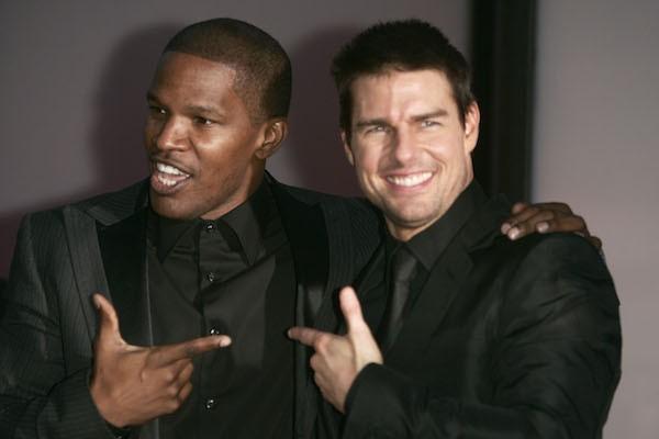 Tom Cruise e Jamie Foxx (Foto: Getty Images)