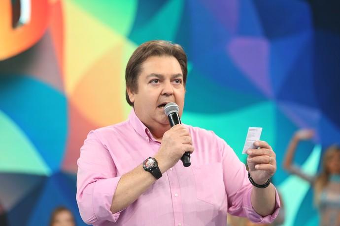 Novo quadro do 'Domingão' promete agitar o programa (Foto: Carol Caminha/Gshow)