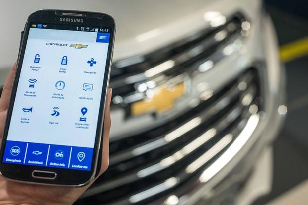 Novo Chevrolet Cruze chegará ao Brasil com sistema multimídia OnStar (Foto: Divulgação)
