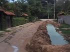 Moradora reclama de obra paralisada em Miguel Pereira, no Sul do RJ
