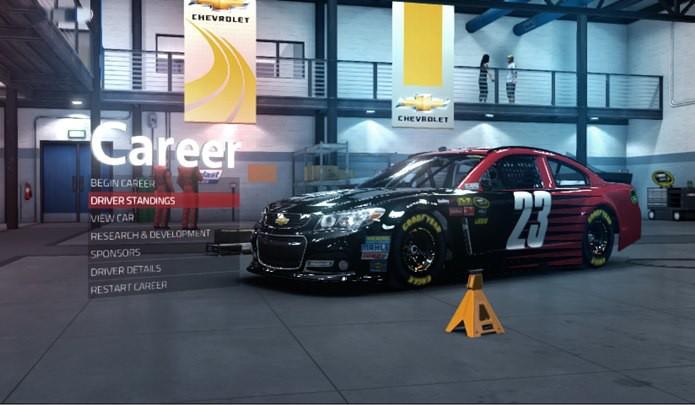 Modo carreira é o principal atrativo de NASCAR 2014 (Foto Reprodução / Dario Coutinho)