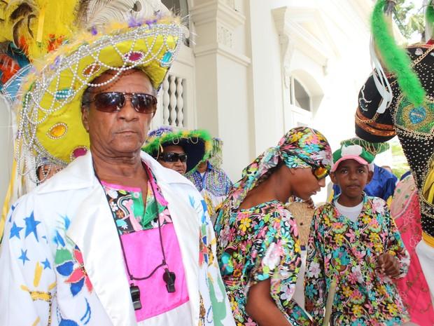 Família de Antônio Araújo mantém tradição há quase 80 anos (Foto: Gilcilene Araújo/G1)