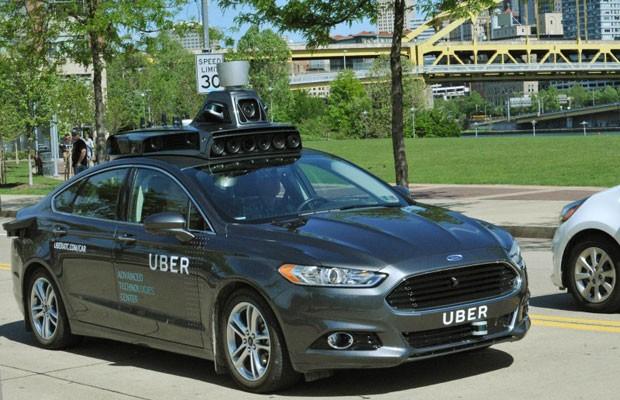 Uber testa carro que dirige sozinho nas ruas de Pittsburgh (EUA). (Foto: Divulgação/Uber)