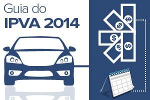 selo IPVA 2014 (Foto: Arte G1)