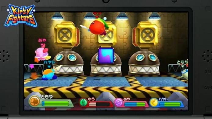 Kirby Fighters: pancadaria e diversão rolam solta (Foto: Divulgação)
