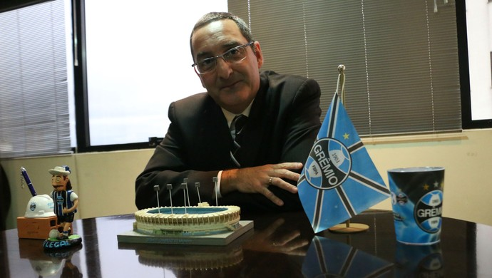 Homero Bellini, candidato a presidência do Grêmio (Foto: Diego Guichard)
