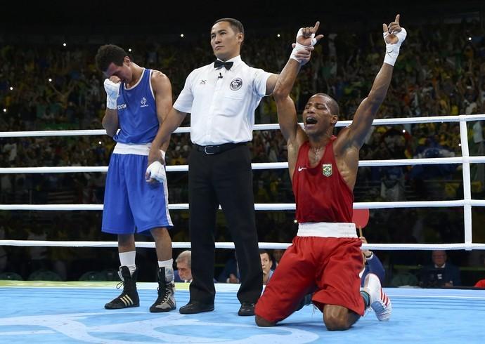 Robson Conceição conquista primeira medalha dourada na historia do boxe brasileiro