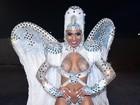 Valeska Reis comenta seios à mostra: 'Eu adoro. Carnaval pode'