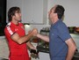 """Lugano elogia o agora chefe Rogério Ceni: """"Tem personalidade vencedora"""""""