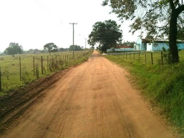 Estrada passou por obras de restauração que custaram R$ 500 mil (Foto: Cláudio Nascimento/ TV TEM)