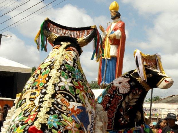 Festa em homenagem a São Marçal (Foto: Biné Morais/O Estado)