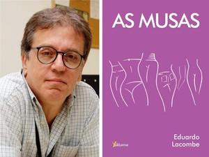 Eduardo Lacombe lança çivro As Musas em Petrópolis (Foto: Divulgação)