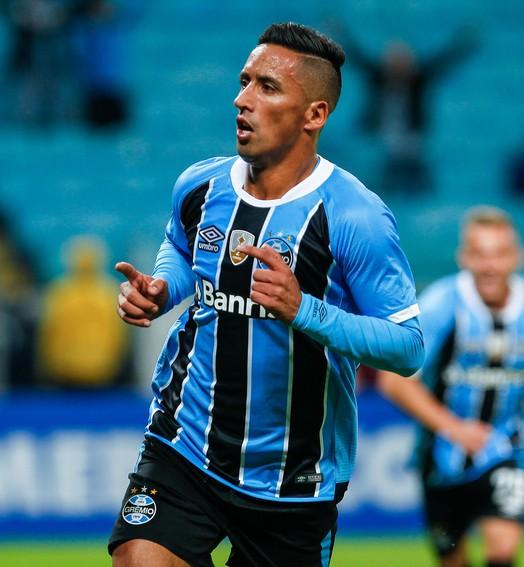 Barrios + 10 (Lucas Uebel/Divulgação Grêmio)