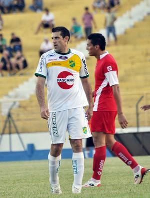 Finazzi, jogador do XV de Jaú, em jogo contra o Flamengo-SP pela Série A3 do Paulista (Foto: Amanda Rocha)